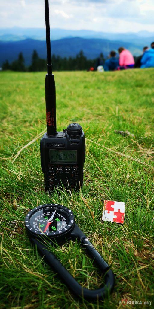 Radiostacja SPØRP w plenerze