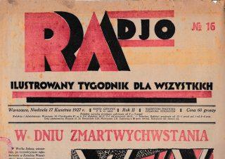 Radjoamator No 16 1927